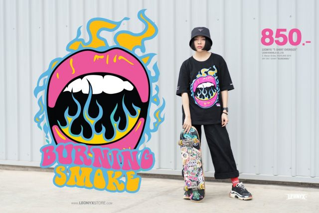 """""""IS IT ART"""" T-Shirt NEW!! COLLECTION 2019""""BURNING SMOKE"""""""