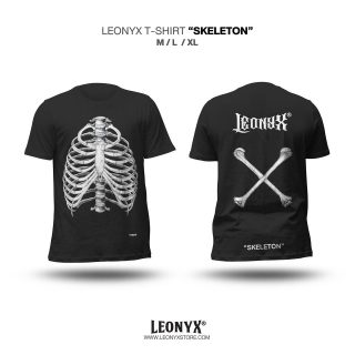 """SKELETON"" LEONYX T-SHIRT"