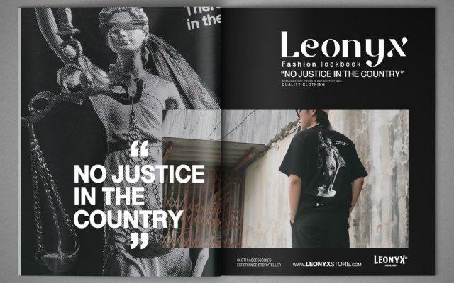 """NO JUSTICE"" LEONYX T-SHIRT"